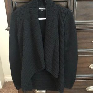 Express Chunky Black Cardigan